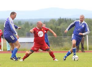 Fredrik Jonasson i Sveg gjorde tre mål och var en viktig kugge för sitt lag.