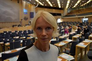 Precis som de tre övriga ledamöterna från länet är Saila Quicklund öppen för samarbeten över partigränserna.