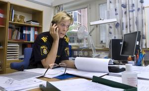 Helena Sundberg, närpolischef i Bollnäs och Ovanåker har lagt upp planeringen inför höstens arbete med en stor satsning mot ungdomsbrott.
