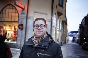 Joel Nordkvist, ordförande MUF Jämtland är väldigt kritisk till det egna partiets agerande.