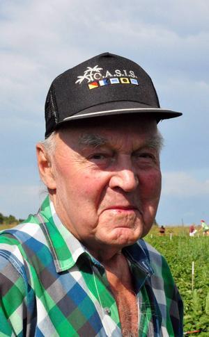 Bertil Allberg, Östersund.   – De får åka in i kylen och sen äter jag dem.