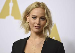 En hackare som stulit och spridit privata nakenbilder på Jennifer Lawrence erkänner. Arkivbild.   Foto: Jordan Strauss/AP/TT
