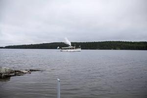 Ångbåten Alma är en av Sveriges äldsta ångbåtar.