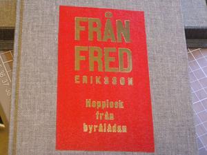 Så ser boken ut som bokbindareleverna vid Leksands folkhögskola nu binder.