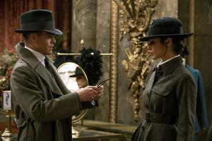 Steve Trevor (Chris Pine) och Diana Prince (Gal Gadot) i
