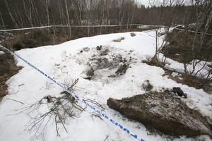 Kvarlevorna efter Leo Andersen Frustuck hittades fler hundra meter från närmaste väg, några kilometer nordväst om Sveg.