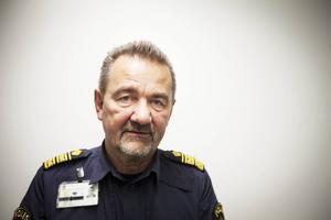 Arkivbild på Stephen Jerand, områdeschef för polisen i Jämtland.
