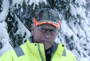 Valter Forsberg, ledansvarig Timrå Snöskoterklubb.