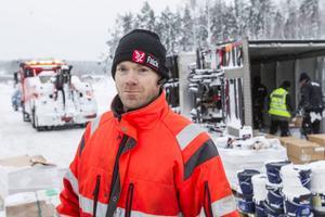 Anders Holmqvist, Falck bilbärgning i Bollnäs.