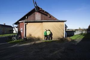 Sista mjölkbönderna i Mattmar, Åse Bixo och Emil Halvarsson Bixo.