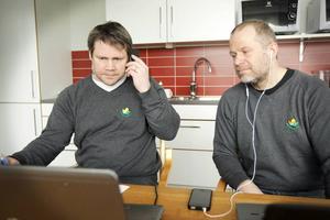 Kjell-Åke Andersson och Markus Åkerblom.