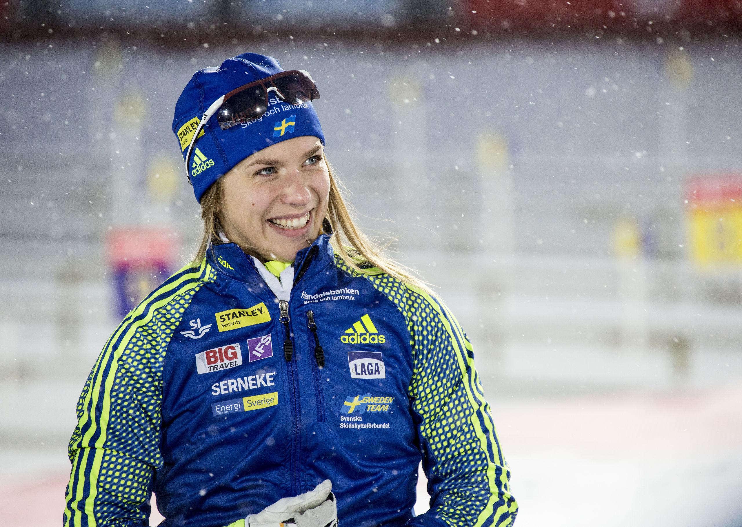 Sverige bara sjua i damstafetten