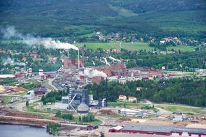 De två personer som andades in svaveldioxid på Domsjö fabriker på lördagsmorgonen mår relativt bra.