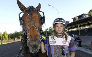 Pride Dreamcatcher med Madelene Johansson vann uttagningsloppet till Amatör-SM. Foto: