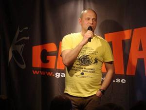 Stefan Söderblomg är ordförande i GASTA.
