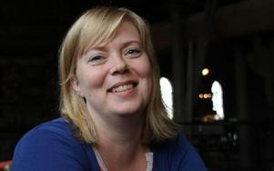 Linda Ahtola är projektledare för länets nya Barnbildcentrum. Foto: Eva Högkvist