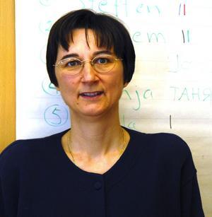 Andrea Demirtas. Ny läkare på internmedicin, Mora lasarett. Foto:Lynda Lundin