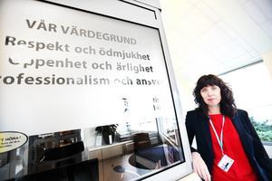 Region Gävleborgs divisionschef Helena Björkman tycker att man behöver hitta ett forum för bra dialog.
