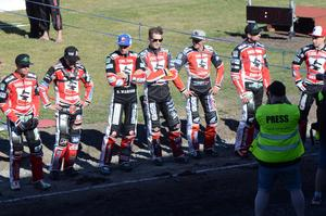 Smederna med Pontus Aspgren gästar Avesta motorstadion på tisdag.