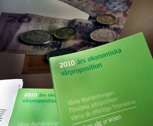 Vårpropositionen som presenterades på torsdagen innehöll få nyheter på kulturområdet.Foto: Jonas Ekströmer/Scanpix