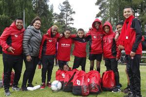 Det Sydafrikanska laget Lifezone spelar i Pojkar P12 har gjort 26 mål på två matcher och siktar högt.