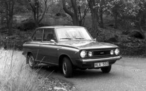 DAF personbil årsmodell 1975.