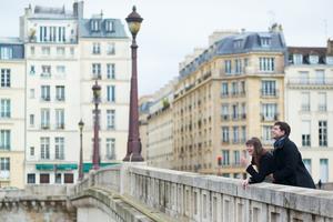 Paris och Rom - det är städerna för kärleksresan.