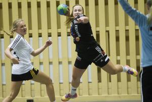 Strands Elin Nygårds har börjat göra fler mål från sin kant.