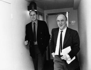 CH Hermansson och Lars Werner. Året var 1973.