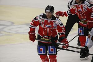 Brett Sterling bänkades mot Rögle. Amerikanske stjärnan hann dock göra Örebros första mål innan petningen.