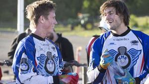 VMK:s Viktor Björklund och Sebastian Lorenz får ingen chans att SM-guld i år.