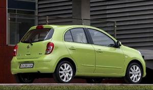 Nya Micra har fått en helt ny design och den bil som säljs i Europa kommer numera från Indien. Föregångaren tillverkades i Storbritannien.Foto: Nissan