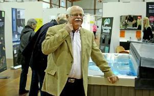 Mässgeneralen Bo Ericsson hade hoppats på fler besökare. Foto: Johnny Fredborg