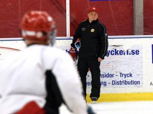 Torbjörn Persson, huvudtränare i Hedemora SK.