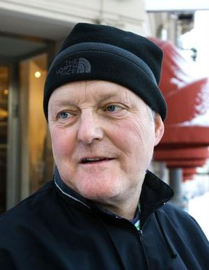 Hasse Grahm, 55 år, universitetsadjunkt, SundsvallSå här ska det vara, soligt och minus fem grader.