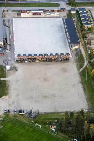 Det blev inget kommunalt lån till det planerade hallbygget på Sävstaås.