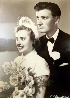 Gifta i 63 år. Gunnel och Charles Asklund.