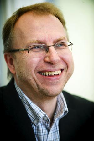 – Man ska vara ödmjuk i kristider, men faktum är att vi ännu inte känt av någon finanskris här, säger Mats Karlsson. Foto:Mattias Nääs