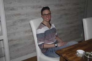 Nanna Jansson hemma.