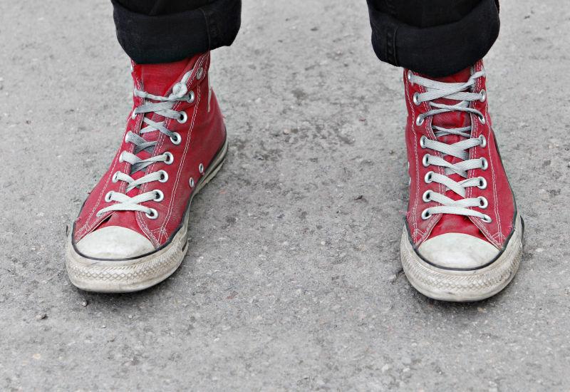 Nar skorna var huvudsaken