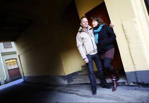 I dag lever de för varandra, Svante och hans Märit Jonsson. Men de hoppas kunna hjälpa andra barnlösa genom den erfarenhet de skaffat sig under alla år.Foto: Håkan Luthman