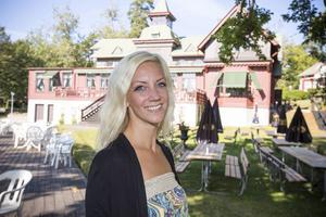 Josefin Ronnerfors jobbar med utvecklingen av turismnäringen i Älvkarleby kommun.