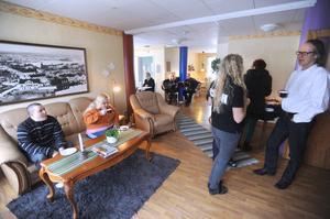Föreningen stortrivs i sina nya lokaler.