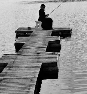 FOTO: HANS LIDMANTant Jennys sista mete är en bild med mycket känsla.