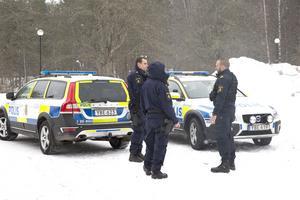 Bombhot mot Högbergsskolan i Ludvika, bedömdes av polisen som falskt.