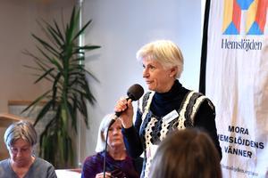 AnnaKerstin Österström berättar om tiden på berget.