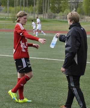 Rasmus Eriksson var het i Valbo FF.