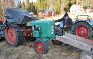 Fahr, ett mycket ovanligt traktormärke i vårt land.
