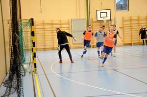 Prisad förening. Frövi IK Fotboll är utsedda till Årets Föreningen och får 100 000 kronor, här under skinkcupen, Futsal.