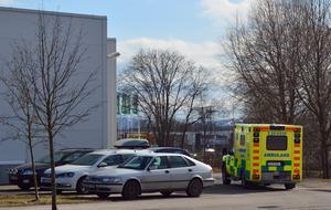 En person fick föras till sjukhus med oklara skador efter slagsmålet på Norra Backa.
